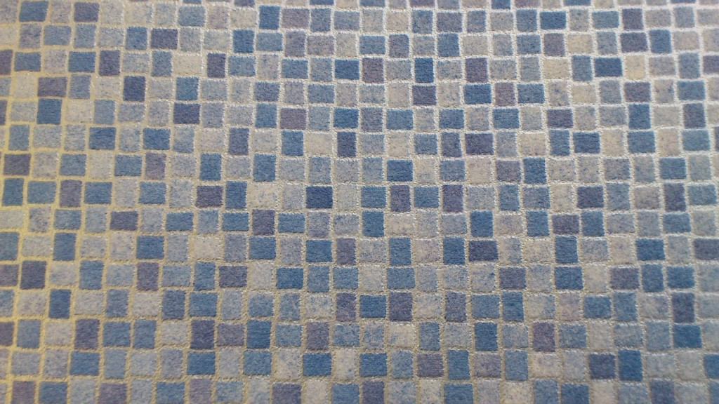 2M wide Blue Mosaic Tile (W.E 575)