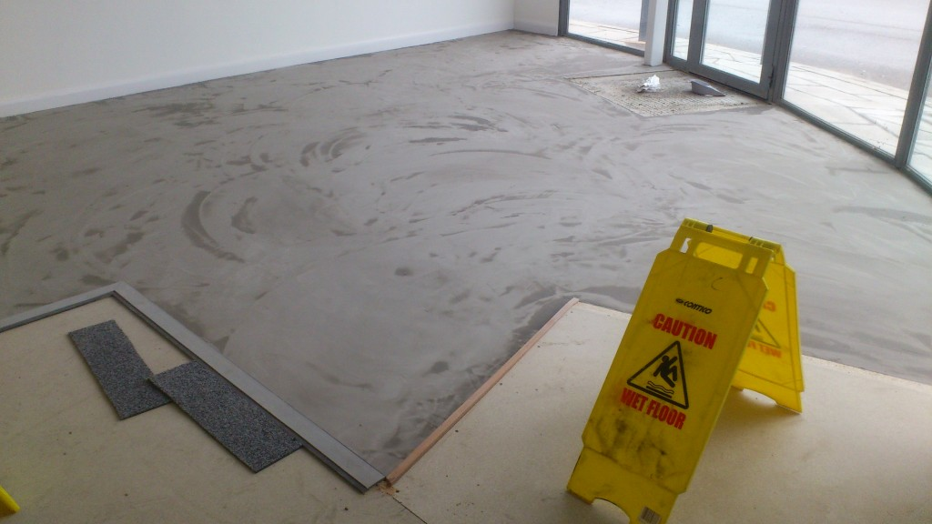Screed 2nd layer required